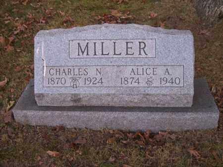 MILLER, ALICE A. - Columbiana County, Ohio   ALICE A. MILLER - Ohio Gravestone Photos