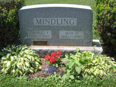 MINDLING, MAY H - Columbiana County, Ohio | MAY H MINDLING - Ohio Gravestone Photos