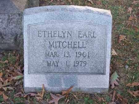 MITCHELL, ETHELYN EARL - Columbiana County, Ohio | ETHELYN EARL MITCHELL - Ohio Gravestone Photos