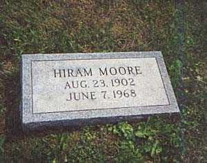 MOORE, HIRAM - Columbiana County, Ohio | HIRAM MOORE - Ohio Gravestone Photos