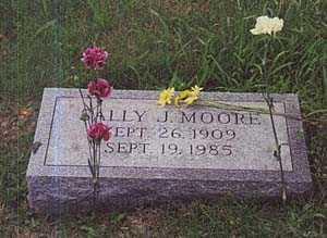 MOORE, SALLY - Columbiana County, Ohio | SALLY MOORE - Ohio Gravestone Photos