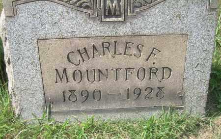 MOUNTFORD, CHARLES F - Columbiana County, Ohio | CHARLES F MOUNTFORD - Ohio Gravestone Photos