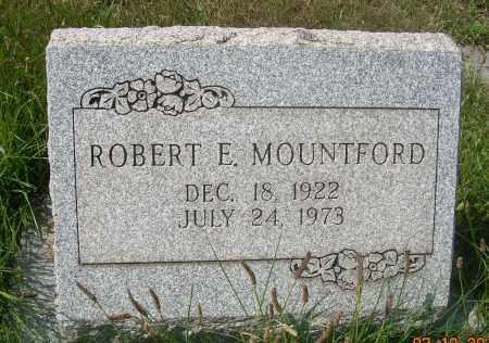 MOUNTFORD, ROBERT E - Columbiana County, Ohio | ROBERT E MOUNTFORD - Ohio Gravestone Photos