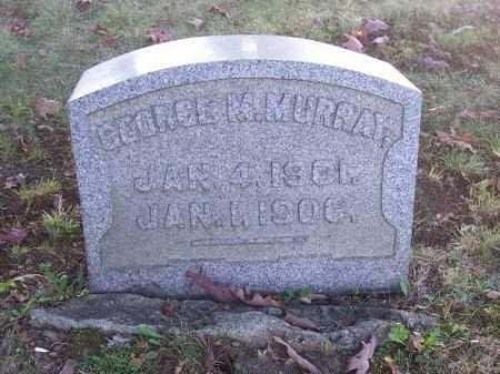 MURRAY, GEORGE M. - Columbiana County, Ohio | GEORGE M. MURRAY - Ohio Gravestone Photos