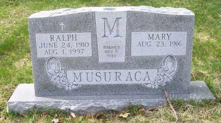 MUSURACA, RALPH - Columbiana County, Ohio | RALPH MUSURACA - Ohio Gravestone Photos