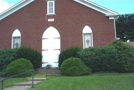 OAK RIDGE UNITED PRESBYTERAN C, CLOSE VIEW - Columbiana County, Ohio | CLOSE VIEW OAK RIDGE UNITED PRESBYTERAN C - Ohio Gravestone Photos
