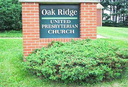 OAK RIDGE, UNITED PRESBYTERIAN CHURCH - Columbiana County, Ohio   UNITED PRESBYTERIAN CHURCH OAK RIDGE - Ohio Gravestone Photos