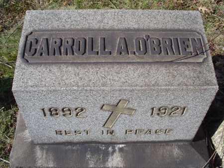 O'BRIEN, CARROLL ALLYSIUS - Columbiana County, Ohio | CARROLL ALLYSIUS O'BRIEN - Ohio Gravestone Photos