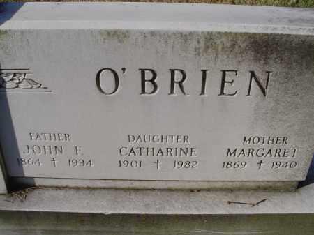 O'BRIEN, MARGARET - Columbiana County, Ohio | MARGARET O'BRIEN - Ohio Gravestone Photos