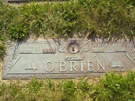 O'BRIEN, ANNA MAE MARGARET - Columbiana County, Ohio | ANNA MAE MARGARET O'BRIEN - Ohio Gravestone Photos