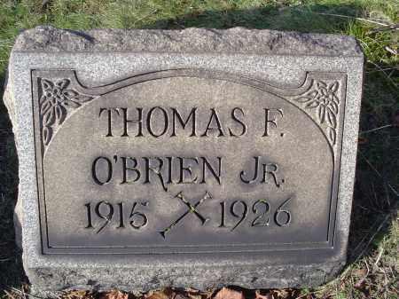 O'BRIEN, THOMAS FREDRICK JR - Columbiana County, Ohio | THOMAS FREDRICK JR O'BRIEN - Ohio Gravestone Photos