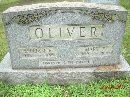 OLIVER, WILLIAM E - Columbiana County, Ohio | WILLIAM E OLIVER - Ohio Gravestone Photos