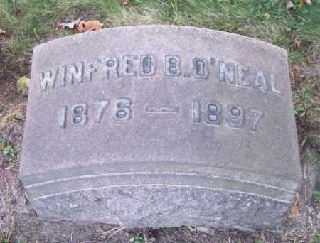 O'NEAL, WINFRED B. - Columbiana County, Ohio | WINFRED B. O'NEAL - Ohio Gravestone Photos