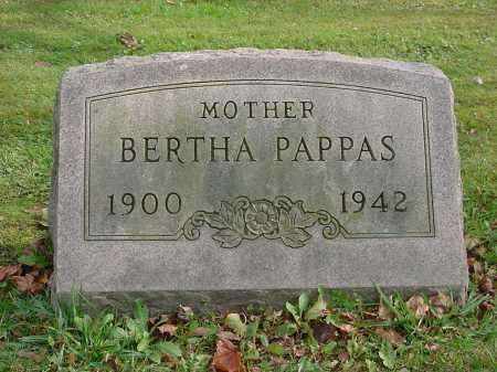 SHEPHERD PAPPAS, BERTHA - Columbiana County, Ohio | BERTHA SHEPHERD PAPPAS - Ohio Gravestone Photos