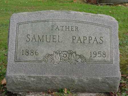 PAPPAS, SAMUEL - Columbiana County, Ohio | SAMUEL PAPPAS - Ohio Gravestone Photos