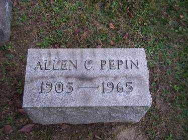 PEPIN, ALLEN C. - Columbiana County, Ohio   ALLEN C. PEPIN - Ohio Gravestone Photos
