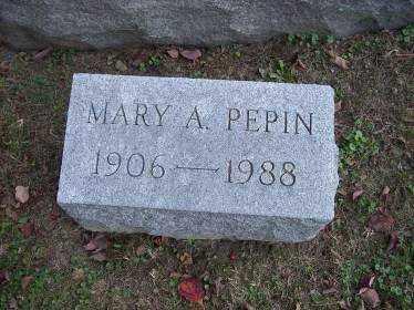PEPIN, MARY A. - Columbiana County, Ohio   MARY A. PEPIN - Ohio Gravestone Photos