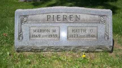 PIEREN, HATTIE - Columbiana County, Ohio | HATTIE PIEREN - Ohio Gravestone Photos