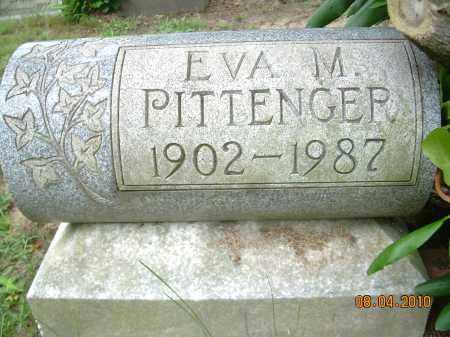 PITTENGER, EVA M - Columbiana County, Ohio | EVA M PITTENGER - Ohio Gravestone Photos
