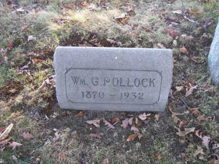 POLLOCK, WM G. - Columbiana County, Ohio | WM G. POLLOCK - Ohio Gravestone Photos