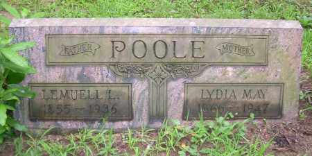MINER POOLE, LYDIA MAY - Columbiana County, Ohio | LYDIA MAY MINER POOLE - Ohio Gravestone Photos
