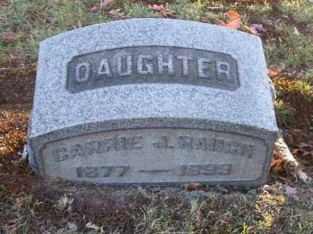 RAUCH, CARRIE J. - Columbiana County, Ohio | CARRIE J. RAUCH - Ohio Gravestone Photos