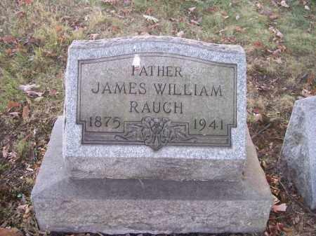 RAUCH, JAMES WILLIAM - Columbiana County, Ohio | JAMES WILLIAM RAUCH - Ohio Gravestone Photos