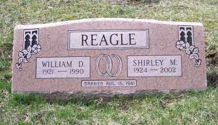REAGLE, WILLIAM D. - Columbiana County, Ohio | WILLIAM D. REAGLE - Ohio Gravestone Photos