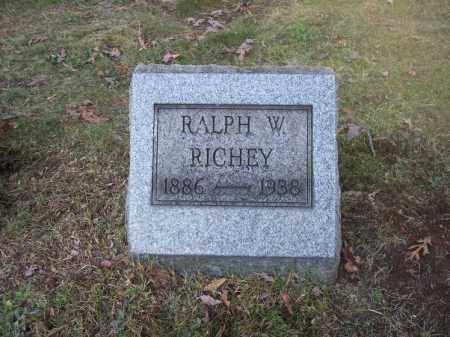 RICHEY, RALPH W. - Columbiana County, Ohio | RALPH W. RICHEY - Ohio Gravestone Photos