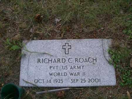 ROACH, RICHARD C. - Columbiana County, Ohio | RICHARD C. ROACH - Ohio Gravestone Photos