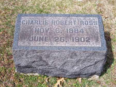 ROSS, CHARLIE ROBERT - Columbiana County, Ohio | CHARLIE ROBERT ROSS - Ohio Gravestone Photos