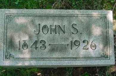 RUFF, JOHN S - Columbiana County, Ohio | JOHN S RUFF - Ohio Gravestone Photos