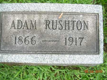 RUSHTON, ADAM - Columbiana County, Ohio   ADAM RUSHTON - Ohio Gravestone Photos