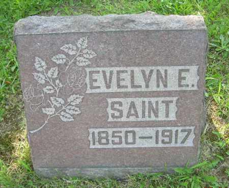 SAINT, EVELYN E. - Columbiana County, Ohio | EVELYN E. SAINT - Ohio Gravestone Photos