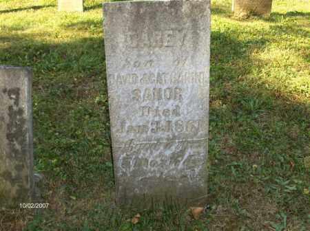 SANOR, CAREY - Columbiana County, Ohio | CAREY SANOR - Ohio Gravestone Photos