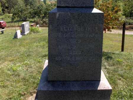 SANOR, ELIZABETH - Columbiana County, Ohio | ELIZABETH SANOR - Ohio Gravestone Photos