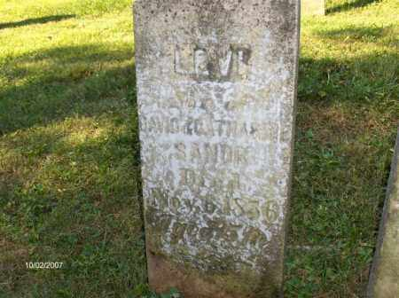 SANOR, LEVI - Columbiana County, Ohio | LEVI SANOR - Ohio Gravestone Photos