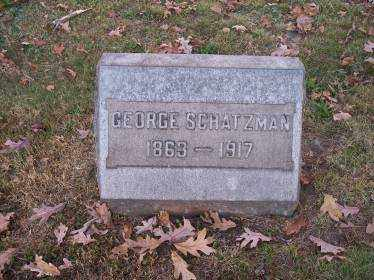 SCHATZMAN, GEORGE - Columbiana County, Ohio | GEORGE SCHATZMAN - Ohio Gravestone Photos