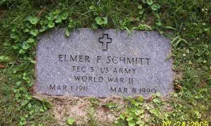 SCHMITT, ELMER F. - Columbiana County, Ohio | ELMER F. SCHMITT - Ohio Gravestone Photos