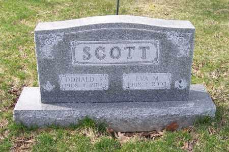 SCOTT, EVA M. - Columbiana County, Ohio   EVA M. SCOTT - Ohio Gravestone Photos