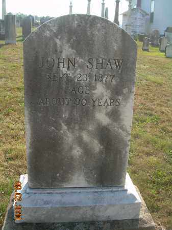 SHAW, JOHN - Columbiana County, Ohio   JOHN SHAW - Ohio Gravestone Photos