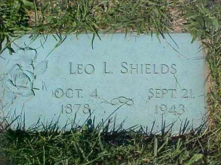 SHIELDS, LEO L - Columbiana County, Ohio | LEO L SHIELDS - Ohio Gravestone Photos