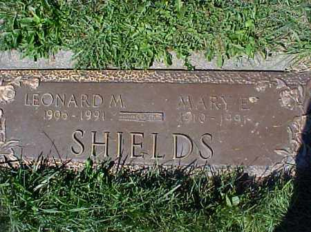 SHIELDS, MARY E - Columbiana County, Ohio | MARY E SHIELDS - Ohio Gravestone Photos