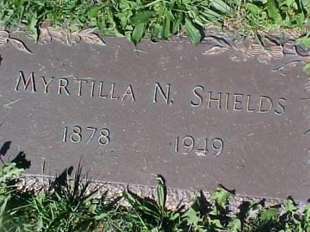 SHIELDS, MYRTILLA N - Columbiana County, Ohio | MYRTILLA N SHIELDS - Ohio Gravestone Photos