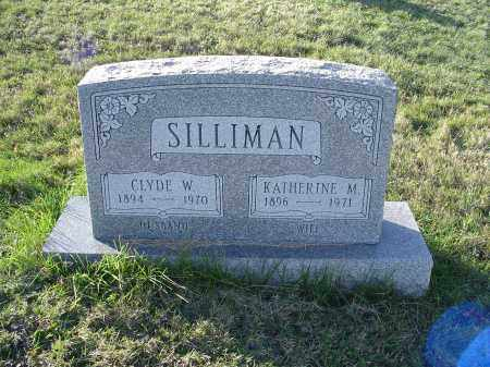 SILLIMAN, CLYDE WORTH - Columbiana County, Ohio   CLYDE WORTH SILLIMAN - Ohio Gravestone Photos
