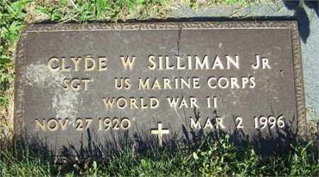 SILLIMAN, JR., CLYDE WORTH - Columbiana County, Ohio | CLYDE WORTH SILLIMAN, JR. - Ohio Gravestone Photos