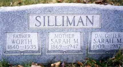 SILLIMAN, SARAH MARGARET - Columbiana County, Ohio | SARAH MARGARET SILLIMAN - Ohio Gravestone Photos