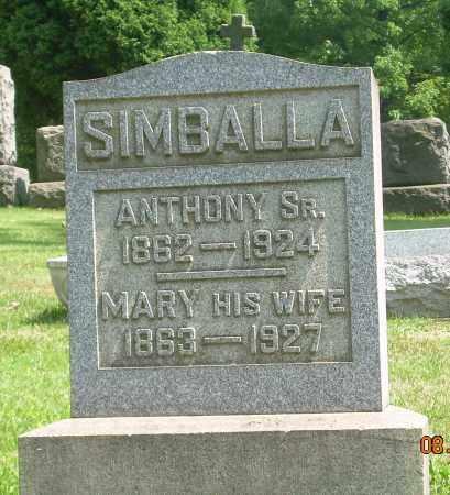 SIMBALLA, MARY - Columbiana County, Ohio | MARY SIMBALLA - Ohio Gravestone Photos