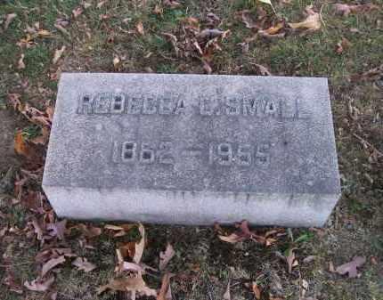 SMALL, REBECCA C. - Columbiana County, Ohio   REBECCA C. SMALL - Ohio Gravestone Photos
