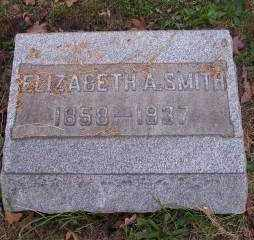 SMITH, ELIZABETH A. - Columbiana County, Ohio | ELIZABETH A. SMITH - Ohio Gravestone Photos